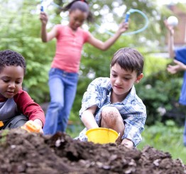 Shielding children from dirt may not make them healthier