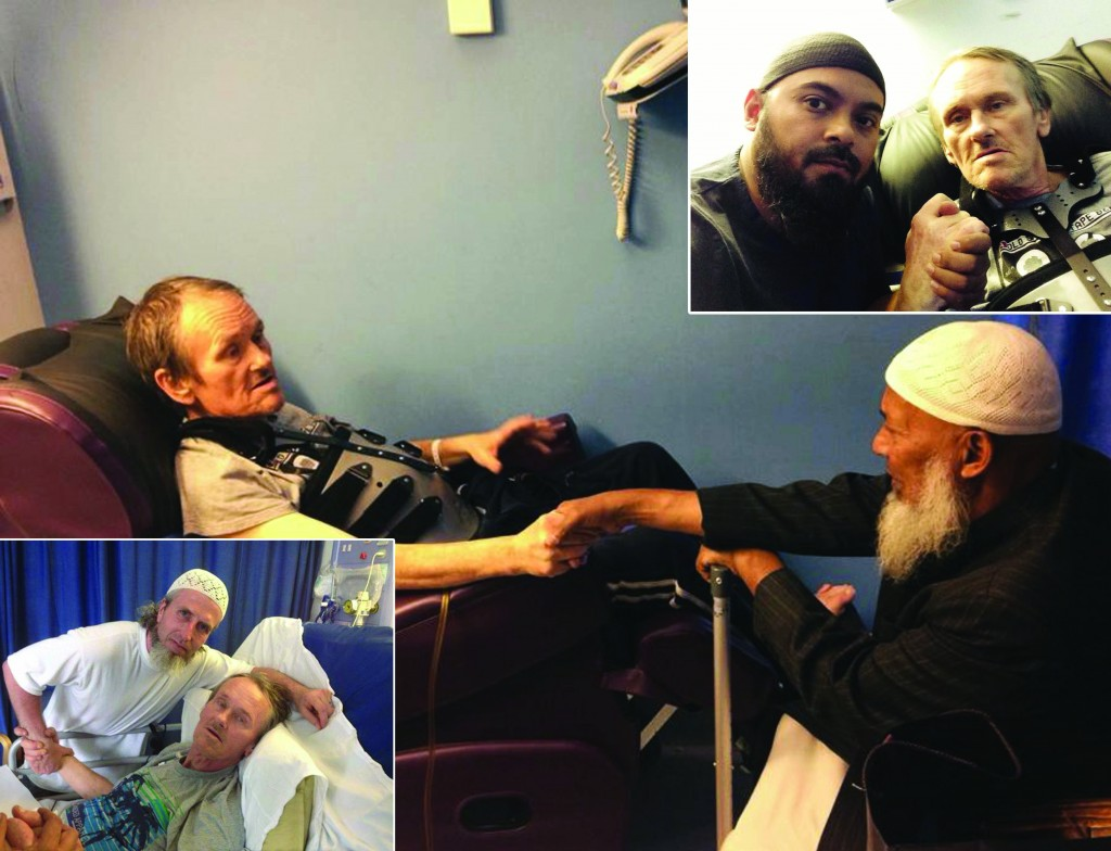 Hundreds of Muslims visit terminally ill convert after message goes viral