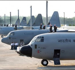 India: Indian Air Force's Super Hercules plane crashes near Gwalior, 4 commandos killed