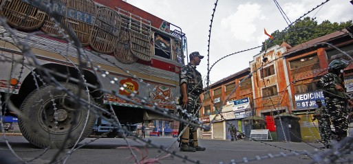 EU supports India calling for India & Pakistan to resolve Kashmir issue