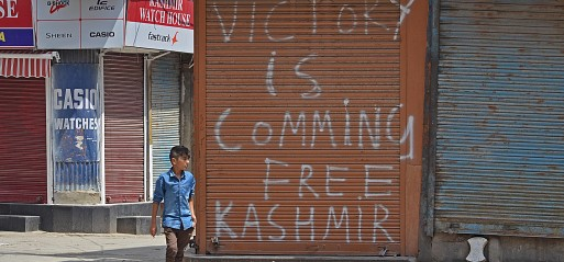 Jammu & Kashmir: Militants storm major police base killing Indian forces