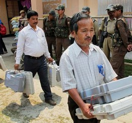 India: Lok Sabha elections: 25% votes cast in Assam till 10am