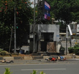 Indonesia: 7 dead in blasts at Jakarta shopping center
