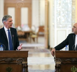 Iran: Zarif, Hammond praise reopening of UK, Iranian embassies