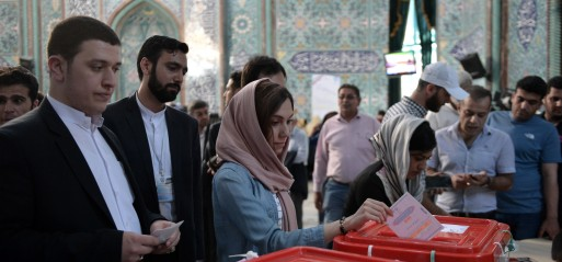 Iran: Rouhani re-elected as president with 58% of the votes