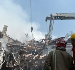 Iran: 4 bodies pulled from rubble of Tehran building collapse