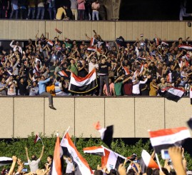 Iraq: Demanding gov't reform, Sadrists storm parliament