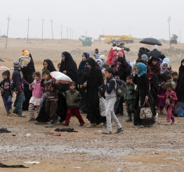 Iraq: 8,000 Iraqi civilians evacuated from western Mosul