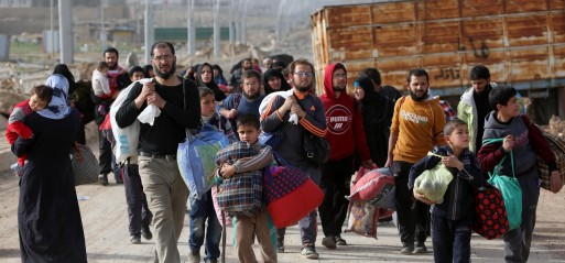 Iraq evacuates over 5,000 civilians from W Mosul