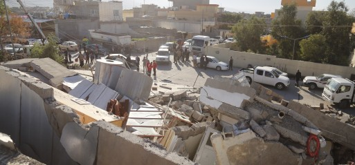 Iran:  Quake rocks northern Iraq, Iran, 214 killed, 2500 injured
