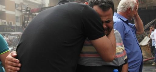 Iraq: Car bombing kills 10 near hospital in Baghdad