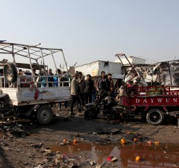 Iraq: Suicide bombing in eastern Baghdad market kills 6