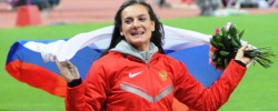 SPORT BRIEF: Isinbayeva slams blanket ban on Russian athletes