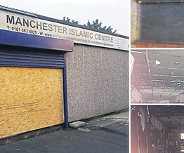 "Islamic centre blazed in suspected ""terror"" crime"