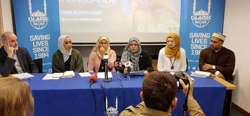 Islamic Relief launches campaign tackling violence against women
