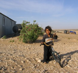 Bedouins protest Israeli confiscation of land