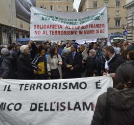 Italy: Muslims rally against terrorism