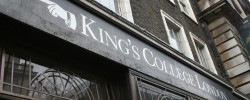 King's College apologises for banning students during royal visit