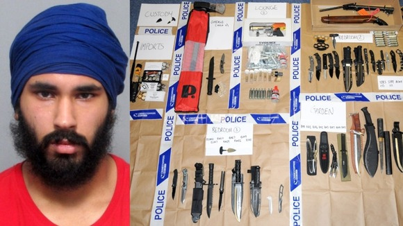Leicester man admits huge weapons haul