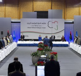 Libyans welcome election of interim executive authority