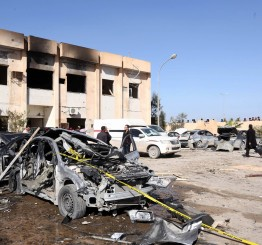 Libya: Suicide bombing kills 50 police recruits