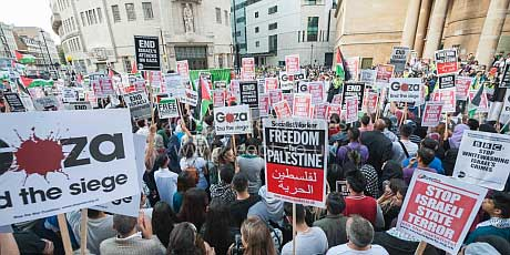 Growth of the Palestine solidarity movement in Europe