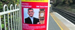 Man arrested over racist stickers featuring Mayor of London