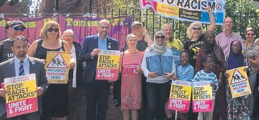 Manchester vigil against anti-Muslim attacks