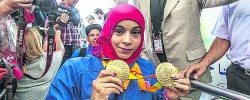 Record medal haul for Muslim paralympians