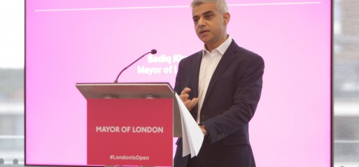 Mayor of London calls for an end to politics of division