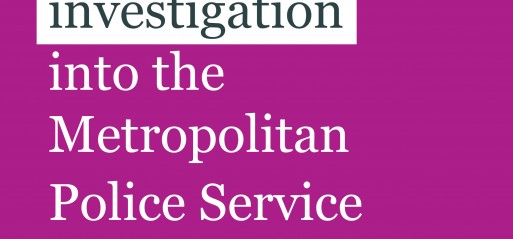 Metropolitan Police could be closing ranks to hide discrimination