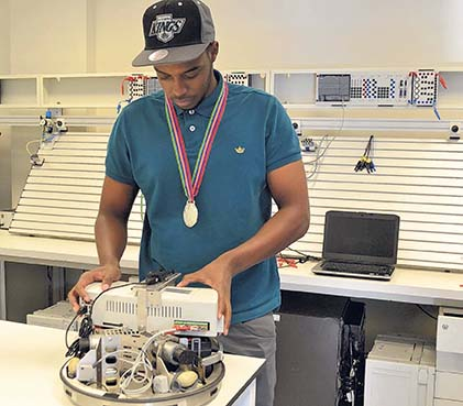Middlesex students scoop medals at national skills competition