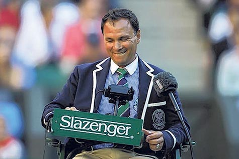 Mohamed Lahyani the most famous tennis umpire