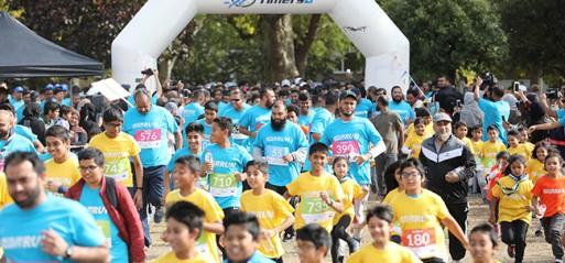 Muslim run raises thousands