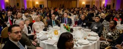 Guests at The Muslim News Awards for Excellence