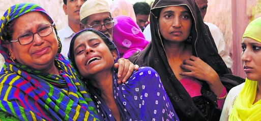 Muslim women accused of eating beef gang raped by Hindu mob
