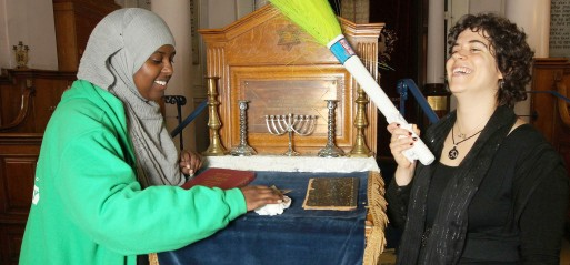 Abraham faiths clean houses of worship in interfaith enterprise