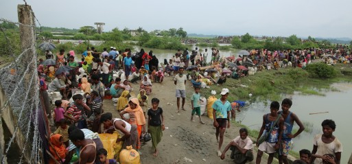 Myanmar: Rohingya Muslim schools, shops set on fire