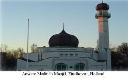 Netherlands: Turkish mosque vandalized in S Netherlands