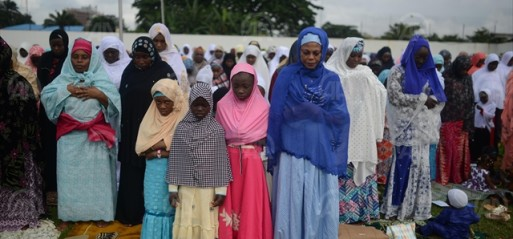 Image result for pictures of nigerian muslims