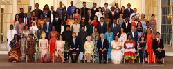 Nine young Muslims presented Queen's awards