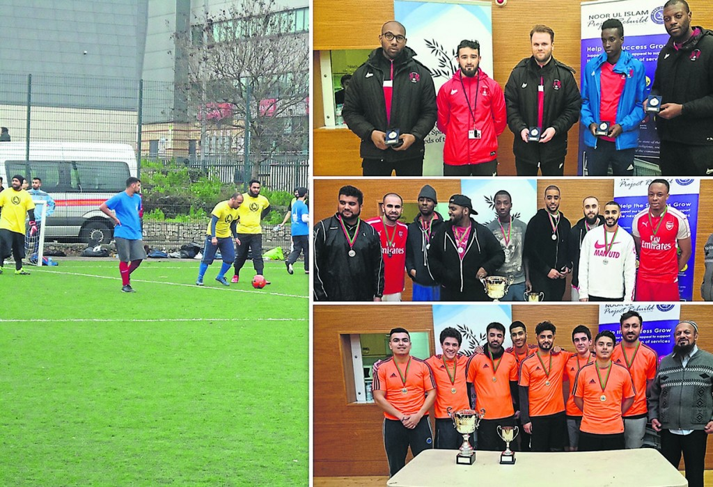 Noor Ul Islam Trust host triumphant 7 a-side tournament
