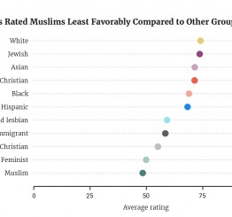 One in five Americans would strip Muslims of their right to vote
