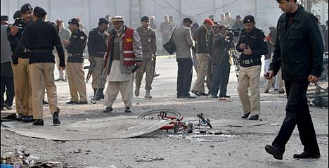 Pakistan: 13 killed in suicide blast near RA Bazar in Rawalpindi
