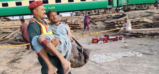 Pakistan: 24 killed, 89 injured in train collision