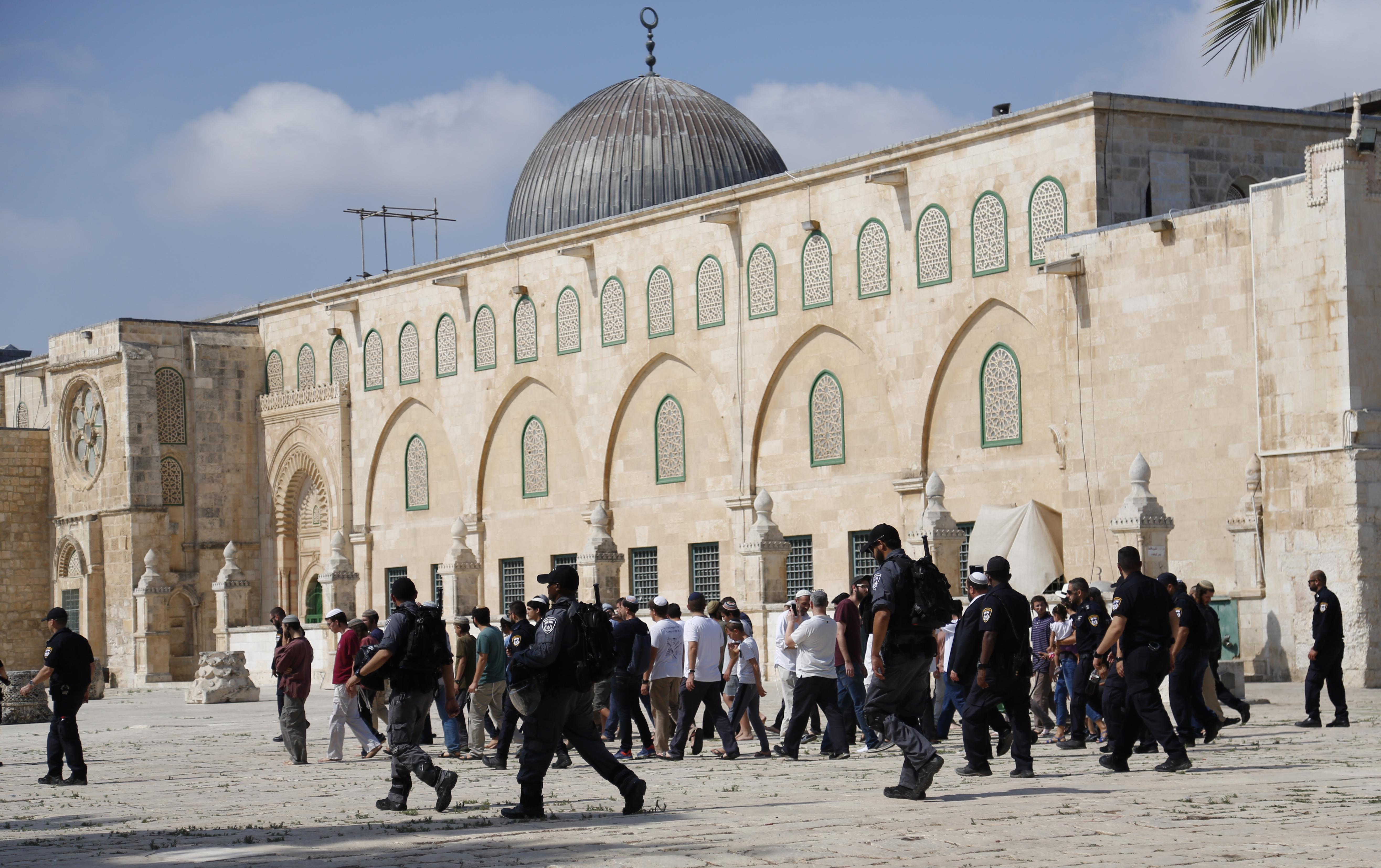 Picture of al aqsa mosque
