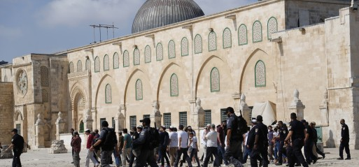 Palestine: Hundreds of Jewish settlers storm Al-Aqsa Mosque
