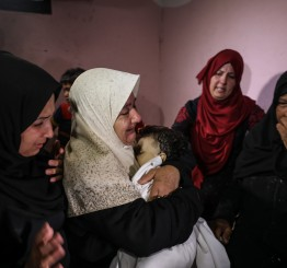 Palestine: Gaza death toll from Israeli fire rises to 62, incl 8 month old baby, over 3100 injured