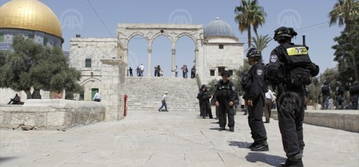Palestine: Israeli soldiers assault children in Al Aqsa Mosque