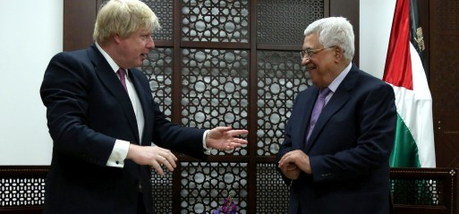 Palestine: Palestine leader meets UK foreign secretary in Ramallah
